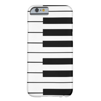 music-themed piano keys barely there iPhone 6 case