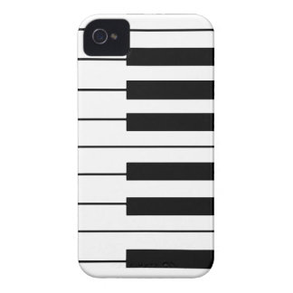 music-themed piano keys iPhone 4 cover