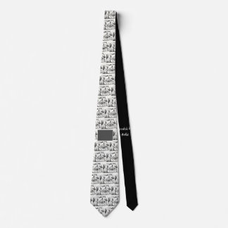 Music themed Tie