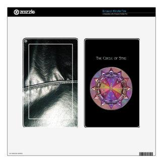 Music Theory Circle of Fifths Mandala Kindle Fire Decal