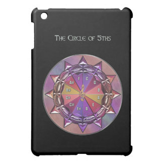 Music Theory Circle of Fifths Mandala on  Cover For The iPad Mini
