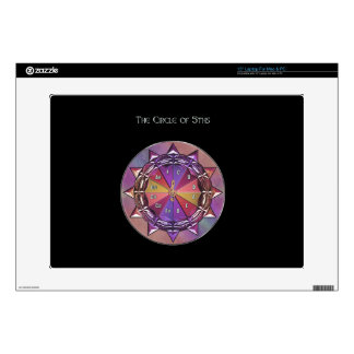 Music Theory Circle of Fifths Mandala Skin For Laptop