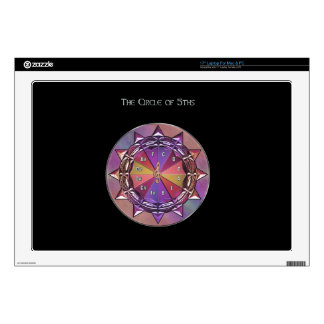"Music Theory Circle of Fifths Mandala Skins For 17"" Laptops"