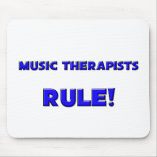 Music Therapists Rule! Mouse Pad