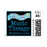 Music Therapy Brightens Lives Stamps
