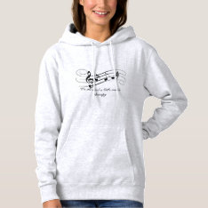 Music Therepy Hoodie at Zazzle