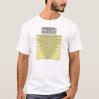 Music those days had a lot of birds and words T-Shirt