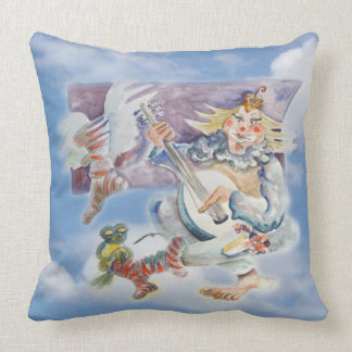 Music Time in Clouds Pillow