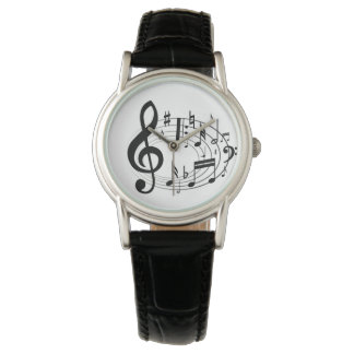 Music Time Wrist Watch