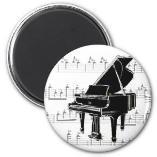 Music to my ears 2 inch round magnet