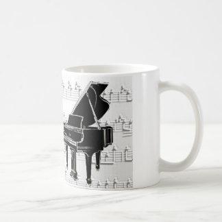 Music to my ears classic white coffee mug