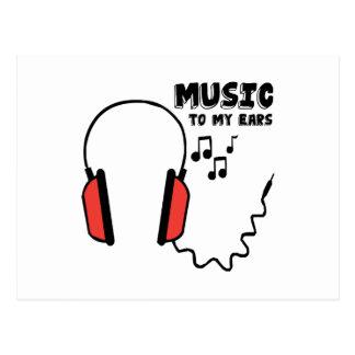 Music To My Ears Postcard