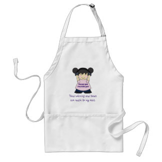 Music To My Ears Snarky Online Gamer Adult Apron