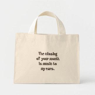 Music to my ears (sq) bag