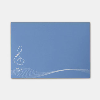 music to my ears sticky notes pad