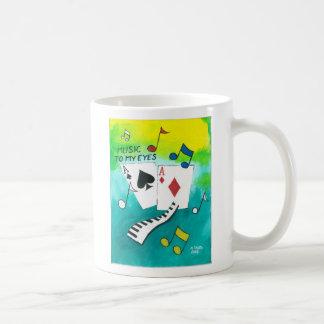 Music to my eyes coffee mug