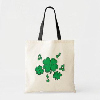 Music To My Irish Ears Canvas Bags