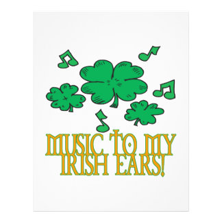 Music To My Irish Ears Flyer
