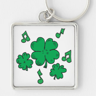 Music To My Irish Ears Keychains