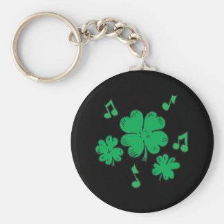 Music To My Irish Ears Key Chain