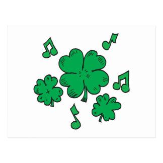 Music To My Irish Ears Postcard