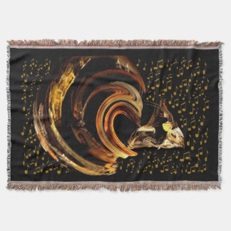 Music to my soul_ throw blanket