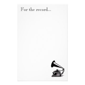Music To Our Ears Stationary Stationery