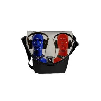 Music to Your Ears Rickshaw Messenger Bag