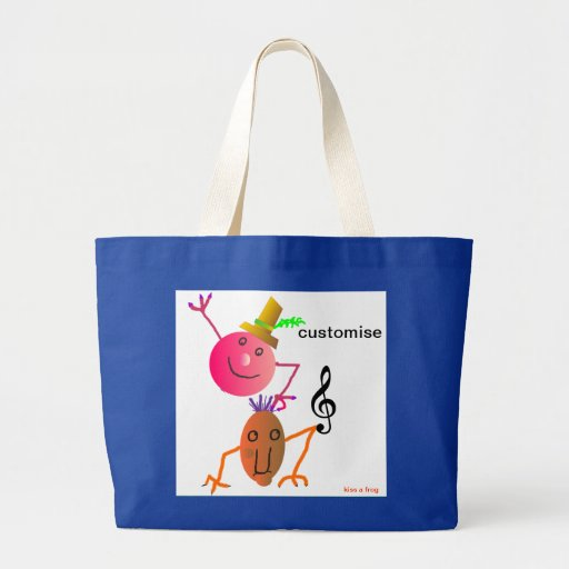 Music Tote Bag - Customise