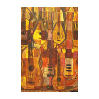 "Music Toys 48""x32""Gallery Canvas"