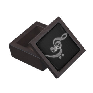 Music - Treble and Bass Clef - Premium Gift Box