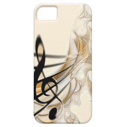Music - treble clef iPhone SE/5/5s case