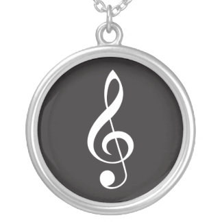 Music Treble Clef Pendant Jewelry Gift