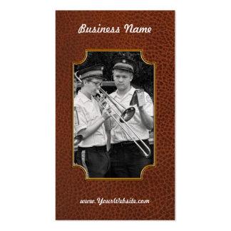 Music - Trombone - A helping hand Business Card