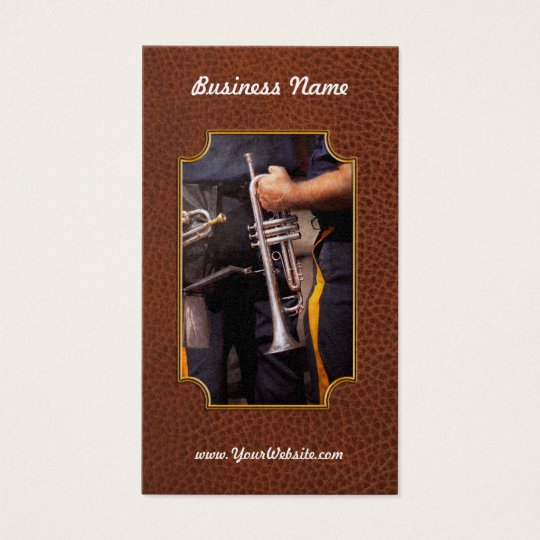 Music - Trumpet - Police marching band Business Card
