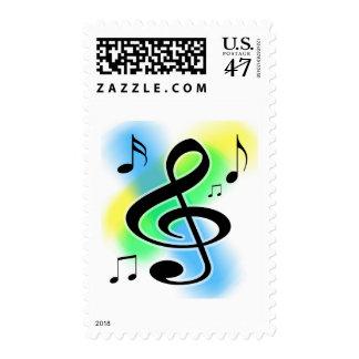 Music Tunes Postage