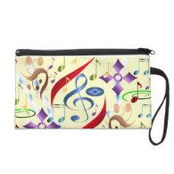 Music Vibes-Bagettes Bag Wristlet