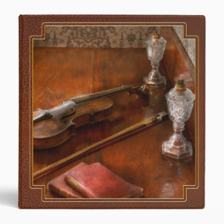 Music - Violin - A sound investment Vinyl Binder