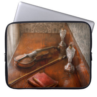 Music - Violin - A sound investment Laptop Computer Sleeves