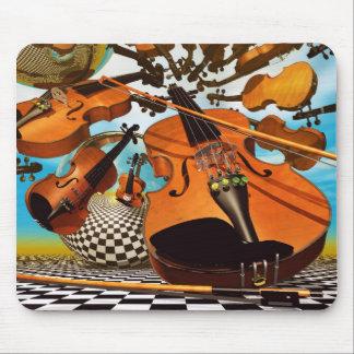 Music Violin Mouse Pad