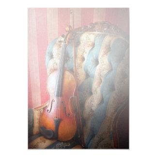 Music - Violin - Musical Elegance Card