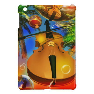 Music Violin playing songs Cover For The iPad Mini