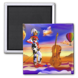 Music violins surreal note art by Lenny Magnet
