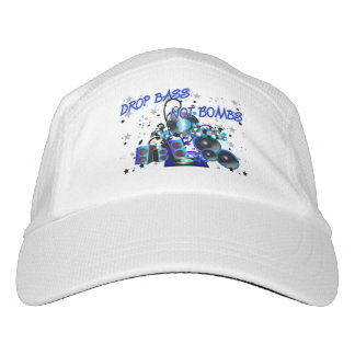 Music vs Violence Drop Bass Not Bombs Hat