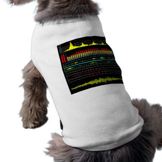 Music Waves & Audio Equalizer2 Dog Clothes