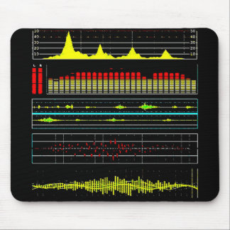 Music Waves & Audio Equalizer2 Mouse Pad