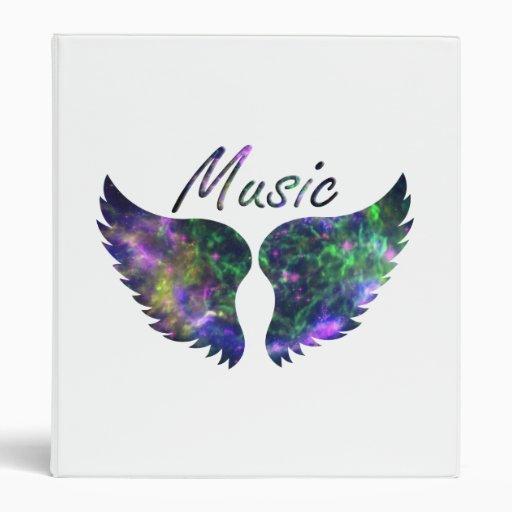 Music wings nova 1 purple green binder
