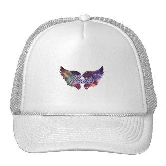 Music wings overlay 1 mesh hats