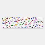 Music with Love_ Car Bumper Sticker
