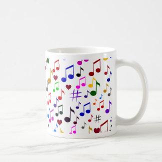 Music with Love_ Coffee Mug